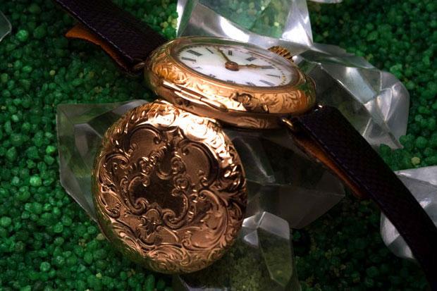 Filigrane-Gold-Uhr